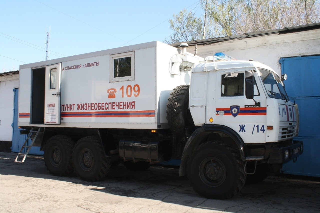 Палаточный лагерь развернули алматинские спасатели в Арыси , фото-1