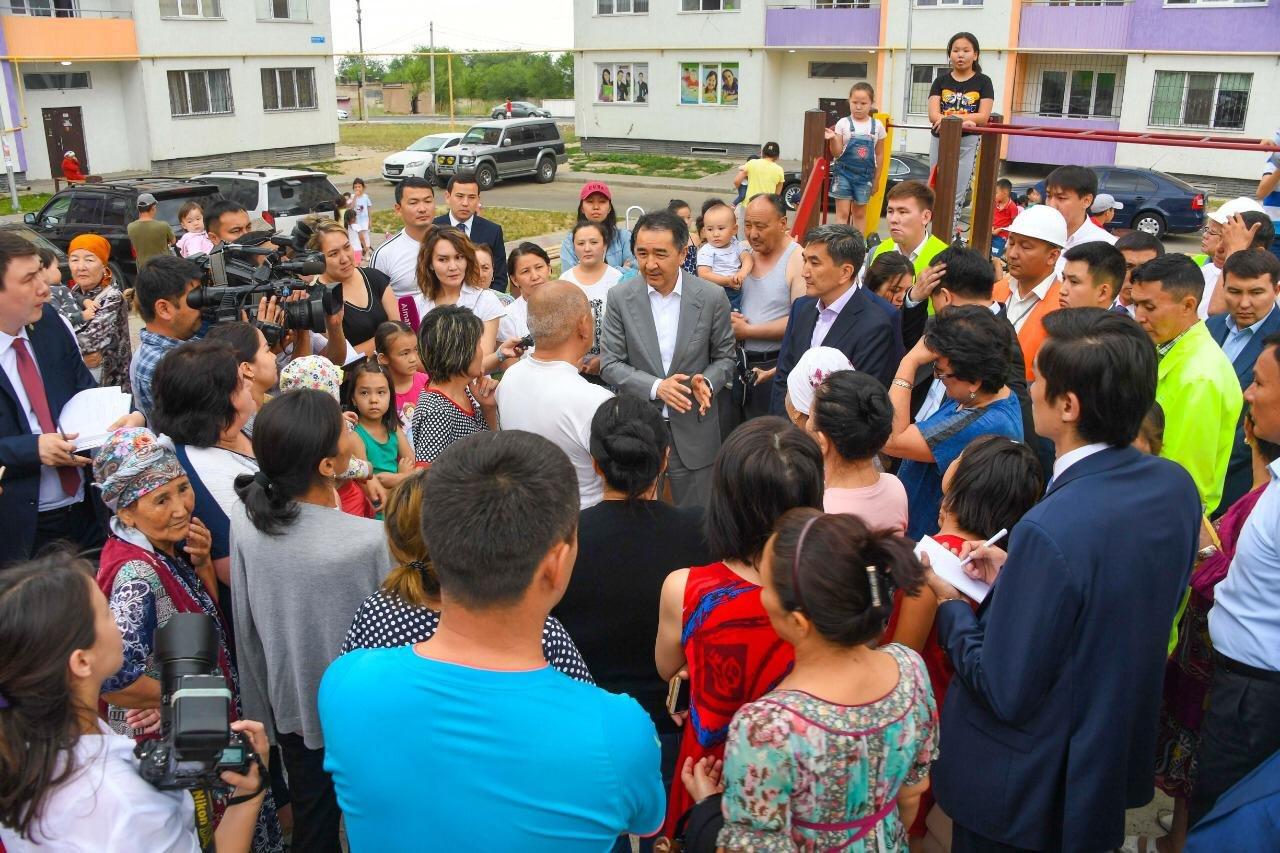 Делом чести назвал Сагинтаев повышение уровня жизни жителей новых районов (ФОТО), фото-3