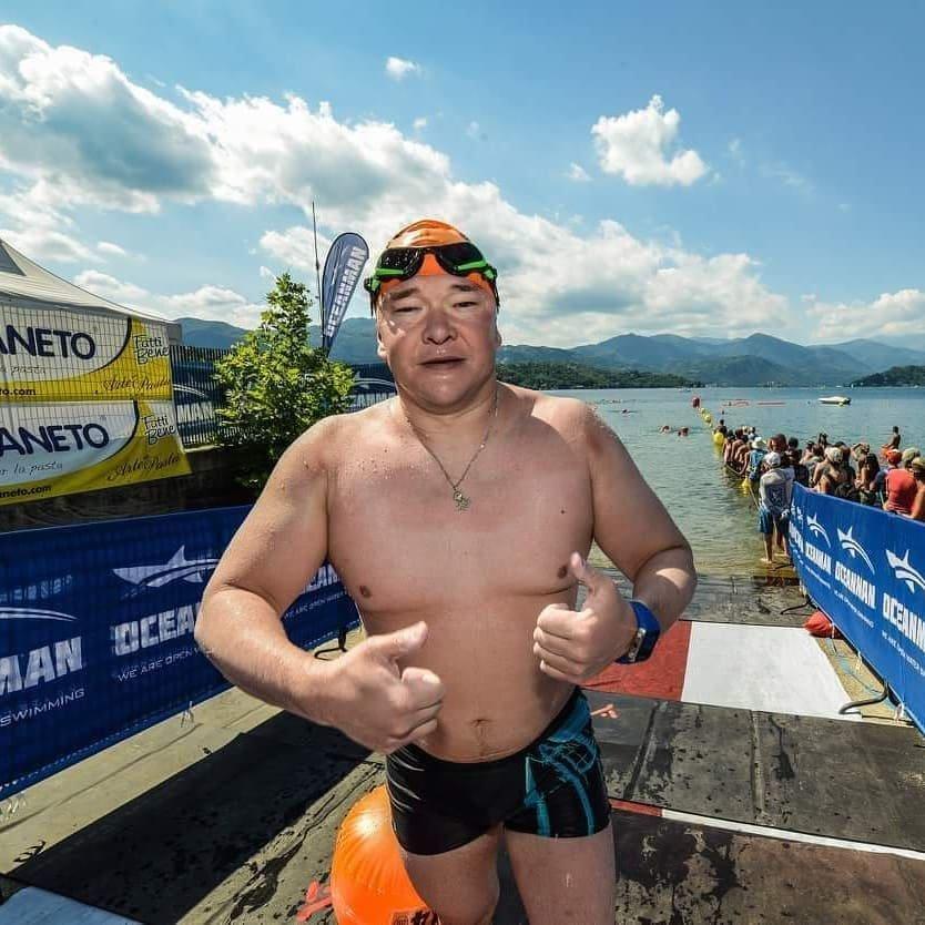 Юрист из Алматы стал первым казахстанцем, в одиночку переплывшим Ла-Манш, фото-1