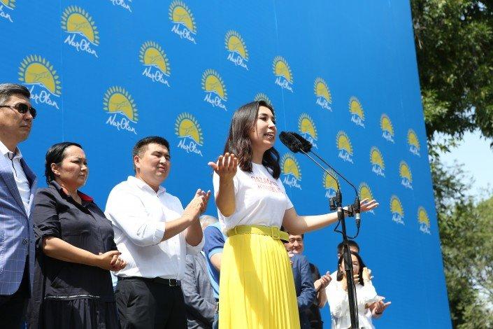 В Алматы прошел митинг против политических провокаций (ФОТО), фото-1