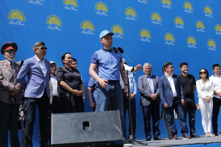 В Алматы прошел митинг против политических провокаций (ФОТО), фото-4