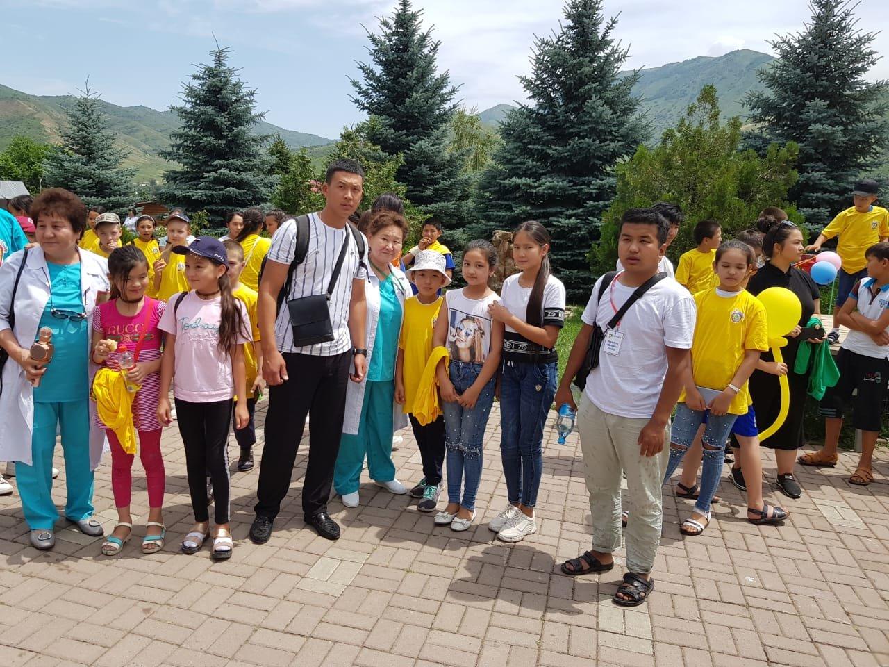 Детей из Арыси разместили в детском лагере под Алматы (ФОТО), фото-1