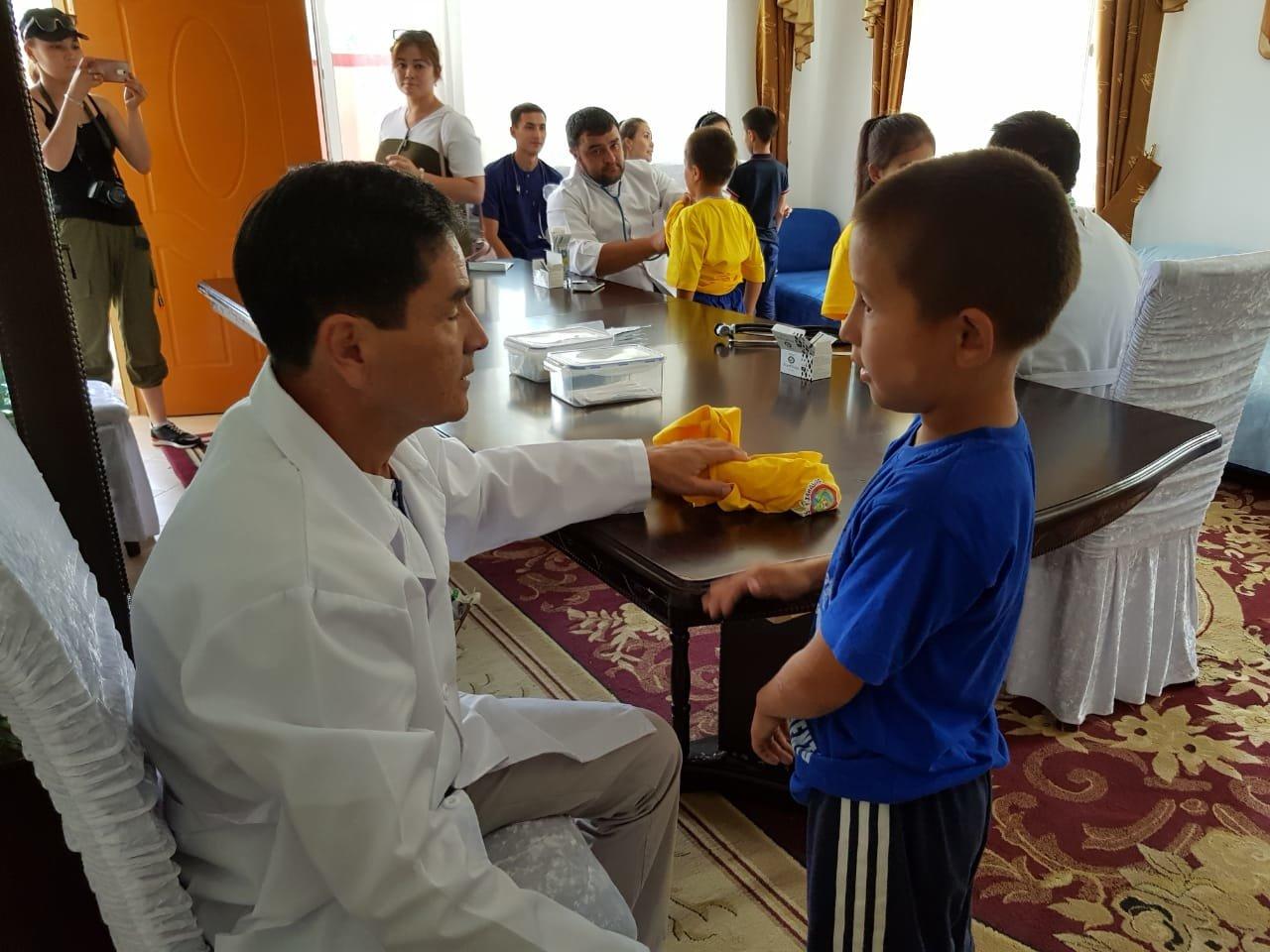 Детей из Арыси разместили в детском лагере под Алматы (ФОТО), фото-6