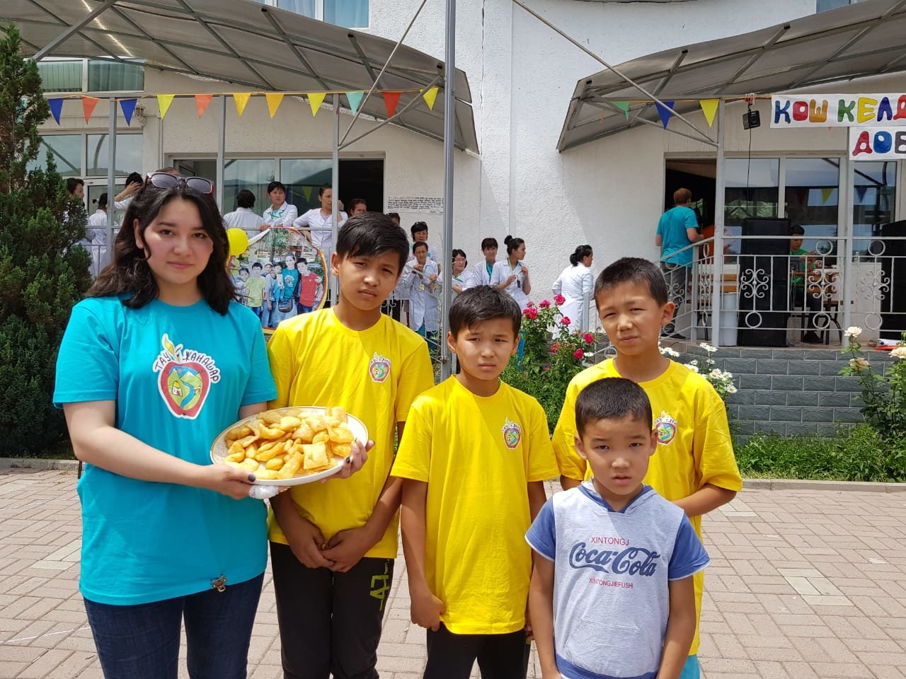 Детей из Арыси разместили в детском лагере под Алматы (ФОТО), фото-2