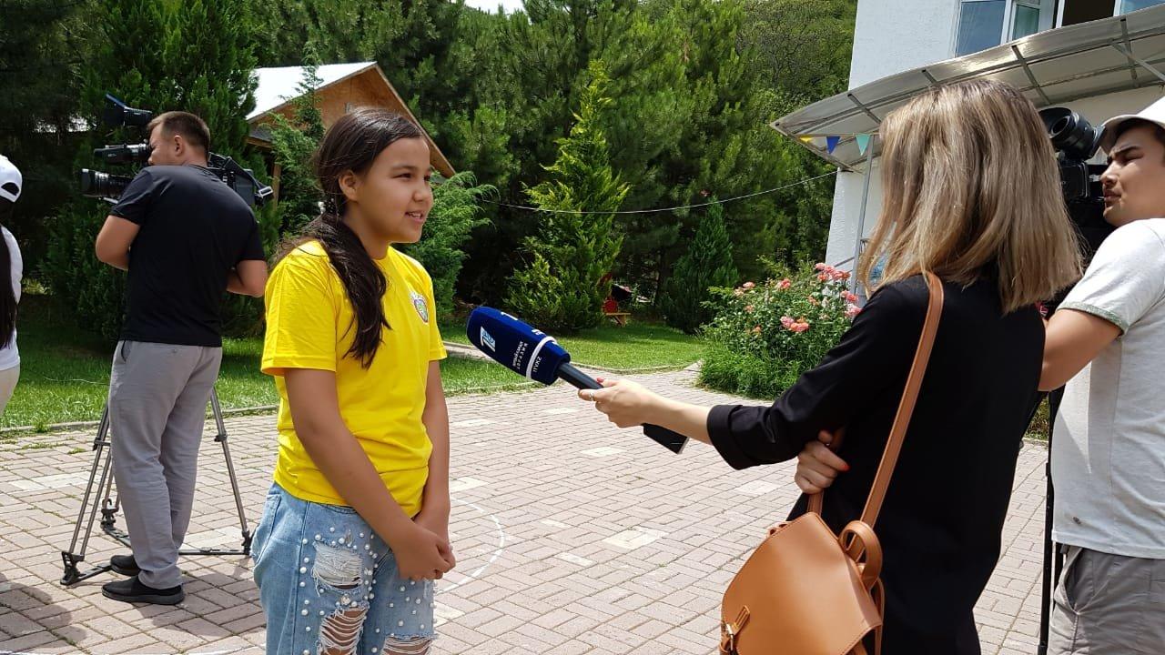 Детей из Арыси разместили в детском лагере под Алматы (ФОТО), фото-8