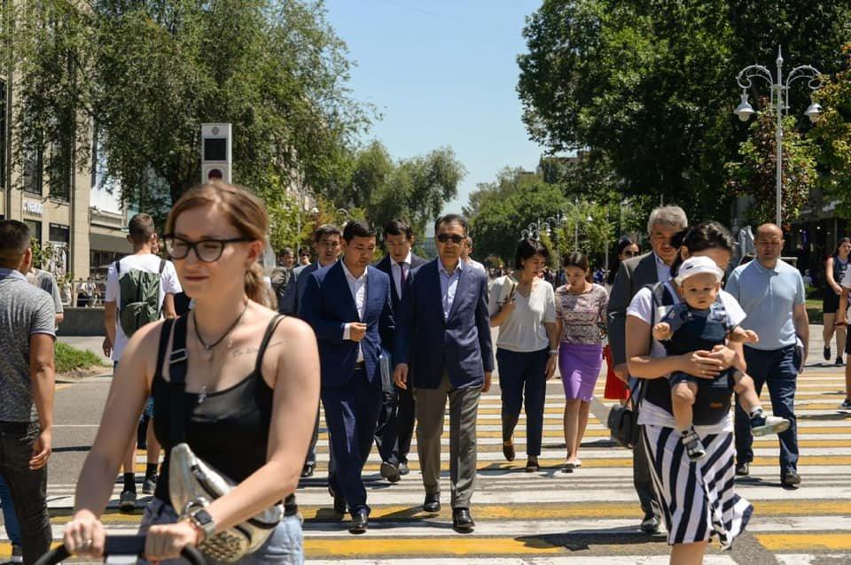 Безопасность пешеходов и зеленые насаждения – аким Алматы о проблемах Алмалинского района, фото-4