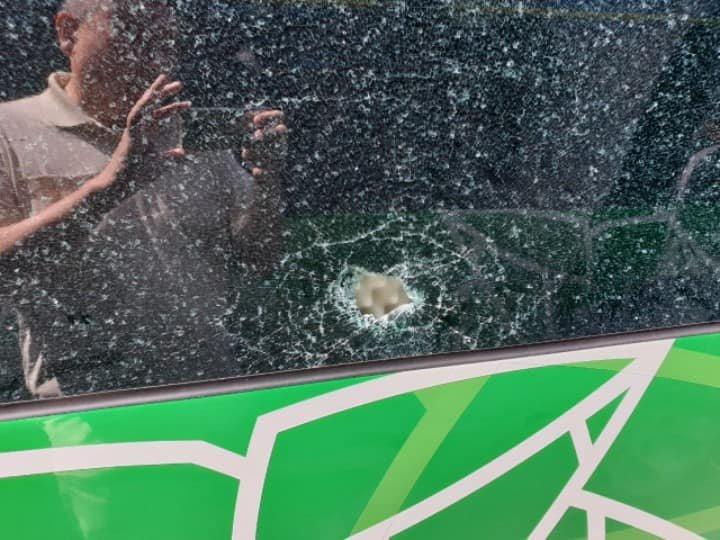 Кто разбивает стекла в новых автобусах 7-го маршрута Алматы, фото-1