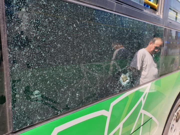 Кто разбивает стекла в новых автобусах 7-го маршрута Алматы, фото-2