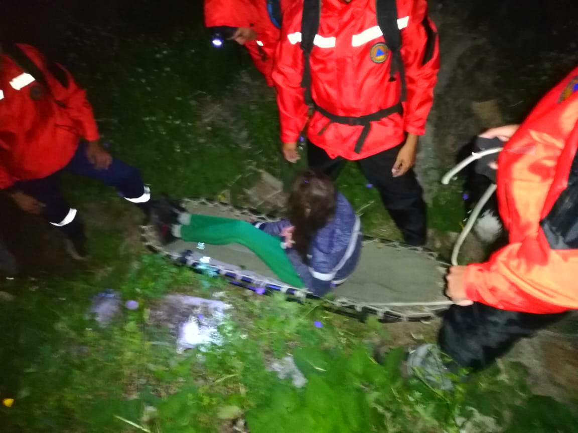 Спасатели эвакуировали пострадавшую в горах Алматы туристку, фото-1
