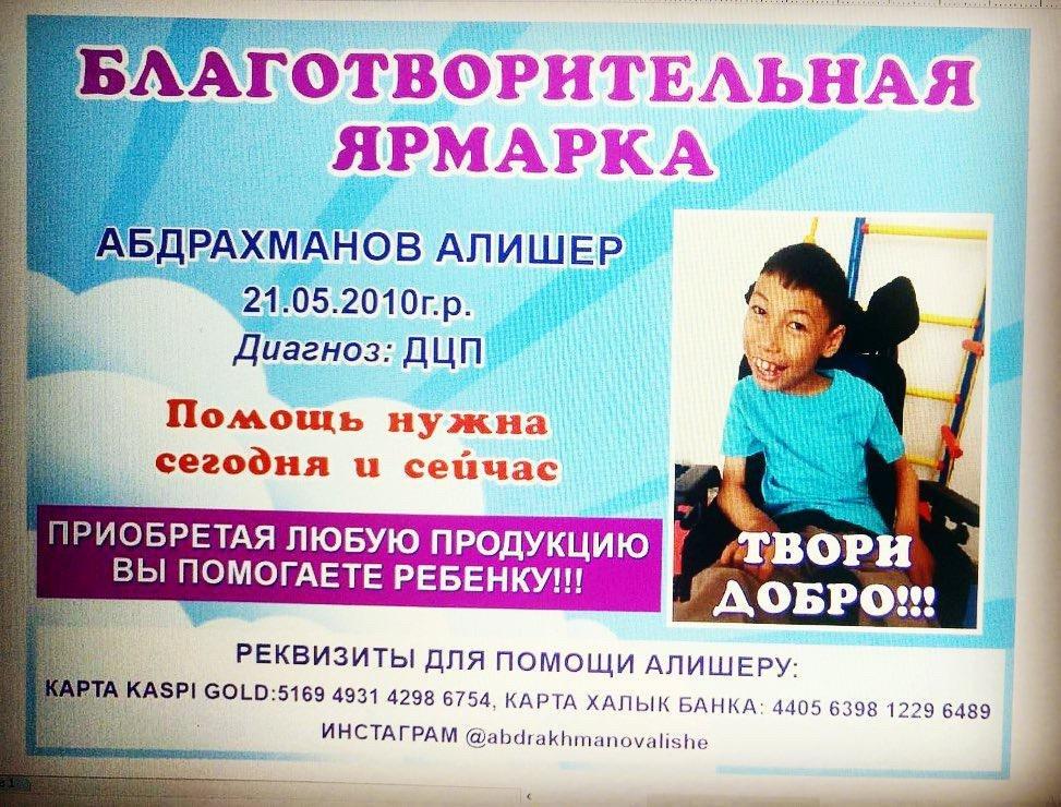 Благотворительная ярмарка: Мальчику с ДЦП собрали помощь в Алматинской области (ФОТО), фото-11