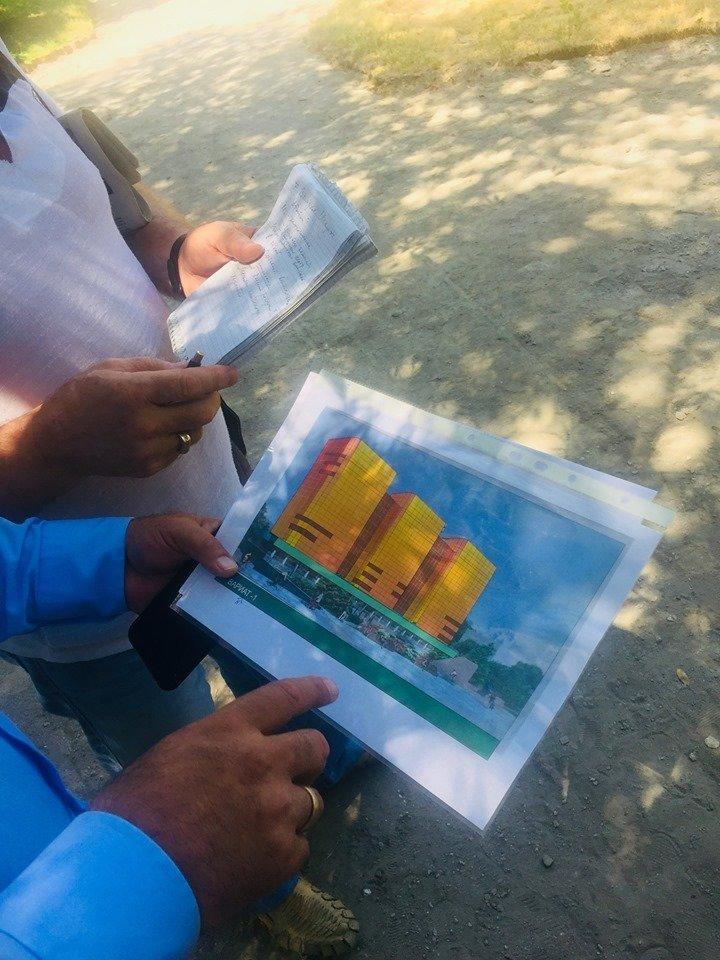 В Медеуском районе проводят конкурс на новый фасад для «Трех богатырей», фото-4