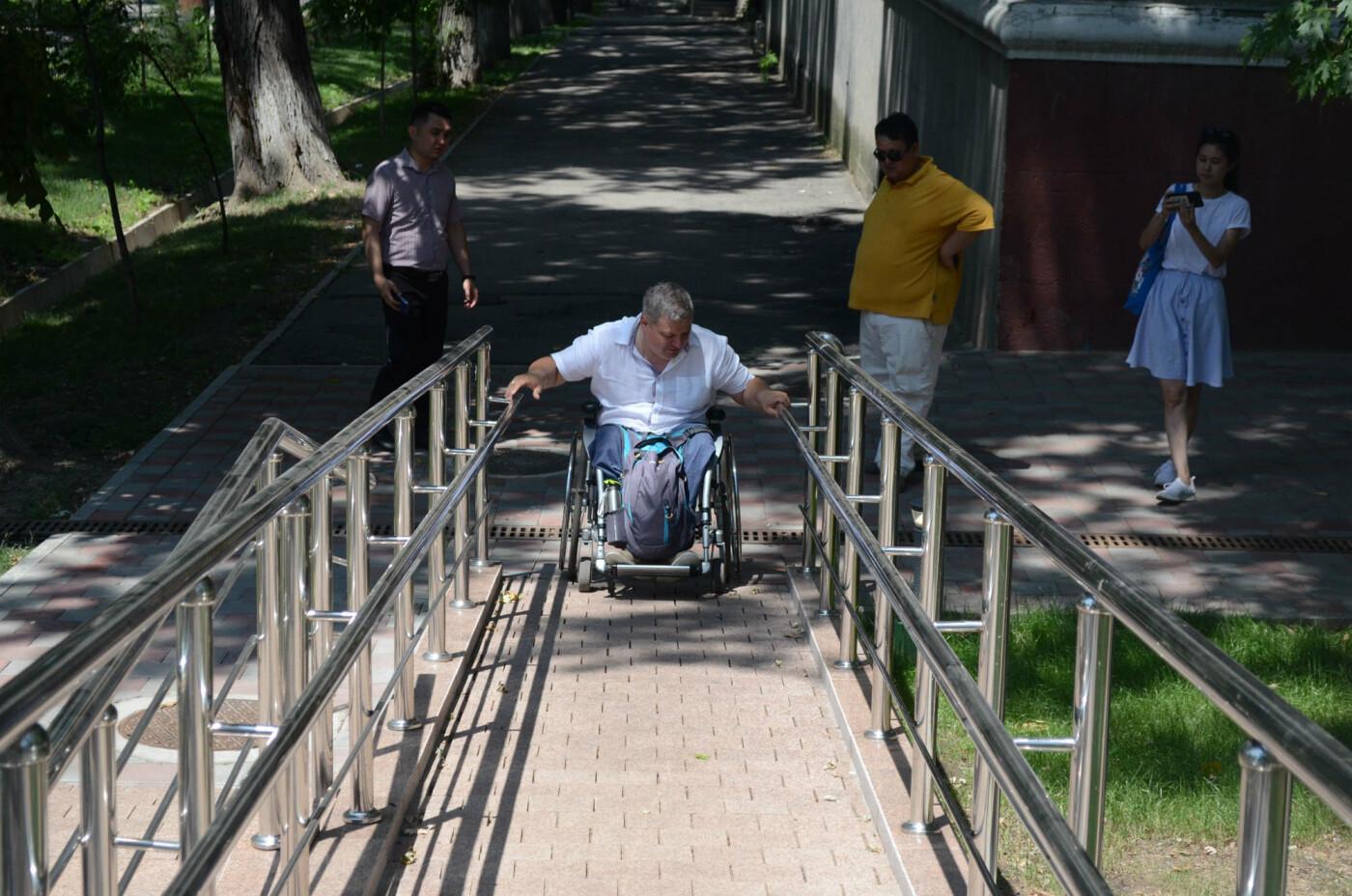 Улицы Алматы враждебны к инвалидам - оценка мониторинга Общественного совета, фото-2