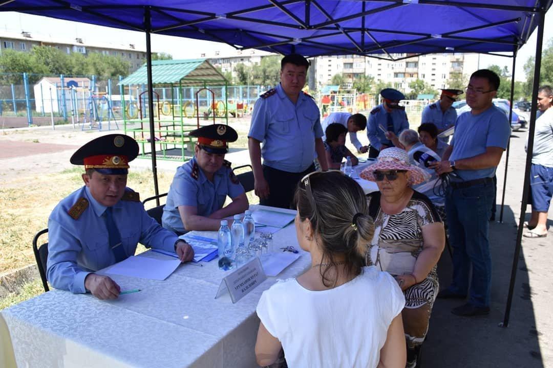 Руководитель полиции Алматинской области пообщался с жителями Талдыкоргана, фото-3
