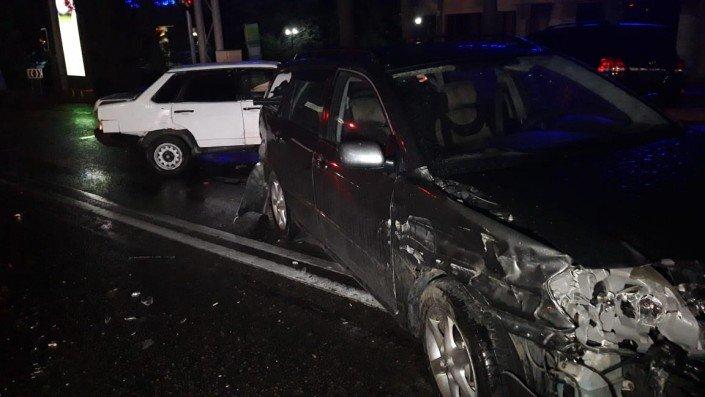 Три машины столкнулись в Алматы во время грозы (ФОТО), фото-2