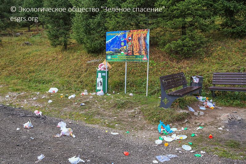 """Как спасти алматинские ущелья от мусора и застройки рассказали экологи, фото-1, ОФ """"Зеленое спасение"""""""