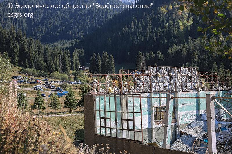 """Как спасти алматинские ущелья от мусора и застройки рассказали экологи, фото-6, ОФ """"Зеленое спасение"""""""