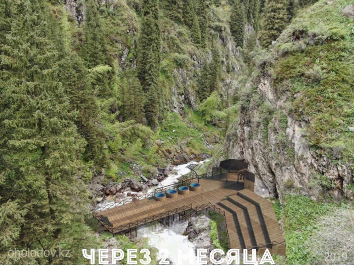 К термальному источнику в «Алма-Арасан» появится 3 новых моста, фото-2