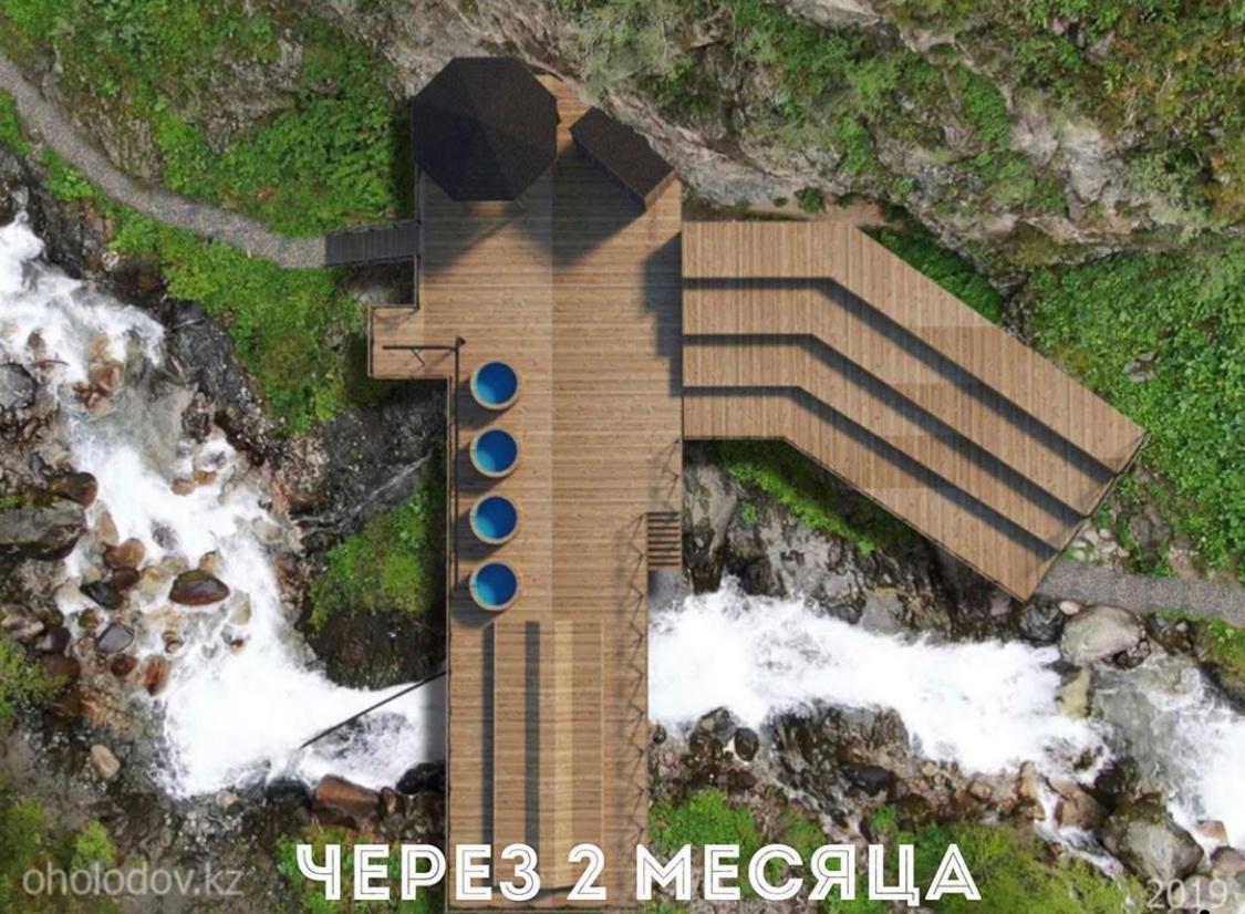 К термальному источнику в «Алма-Арасан» появится 3 новых моста, фото-3
