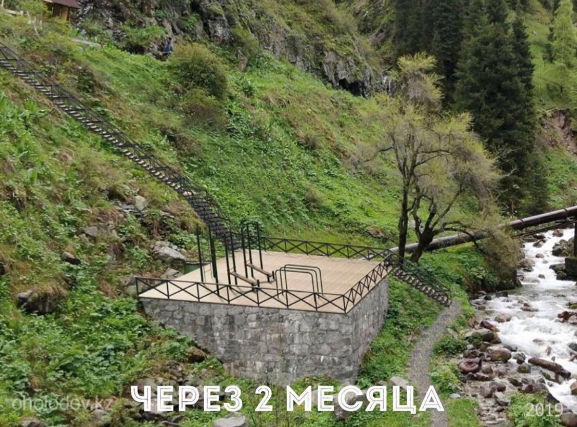 К термальному источнику в «Алма-Арасан» появится 3 новых моста, фото-5