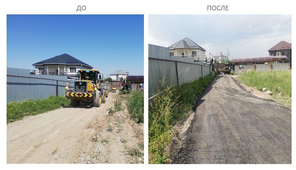 В акимате рассказали куда делись 6 тысяч тонн асфальта, снятого с центральных улиц Алматы, фото-1