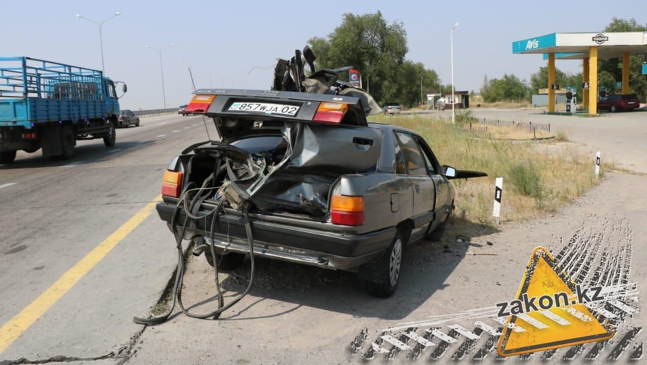 Два человека погибли в ДТП на трассе Алматы-Усть-Каменогорск, фото-5