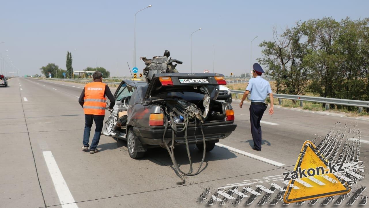 Два человека погибли в ДТП на трассе Алматы-Усть-Каменогорск, фото-4