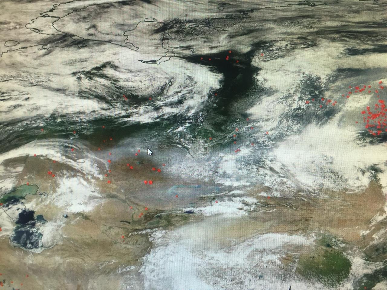 Шлейф от сибирских пожаров достиг Алматинской области, фото-1