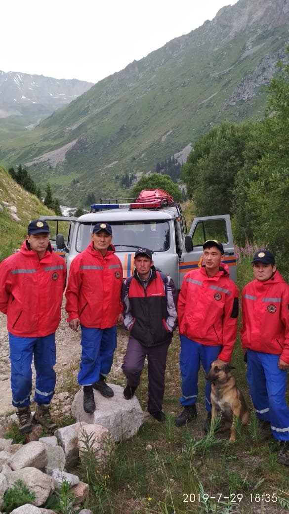 Турист три дня блуждал в горах Алматы, фото-1