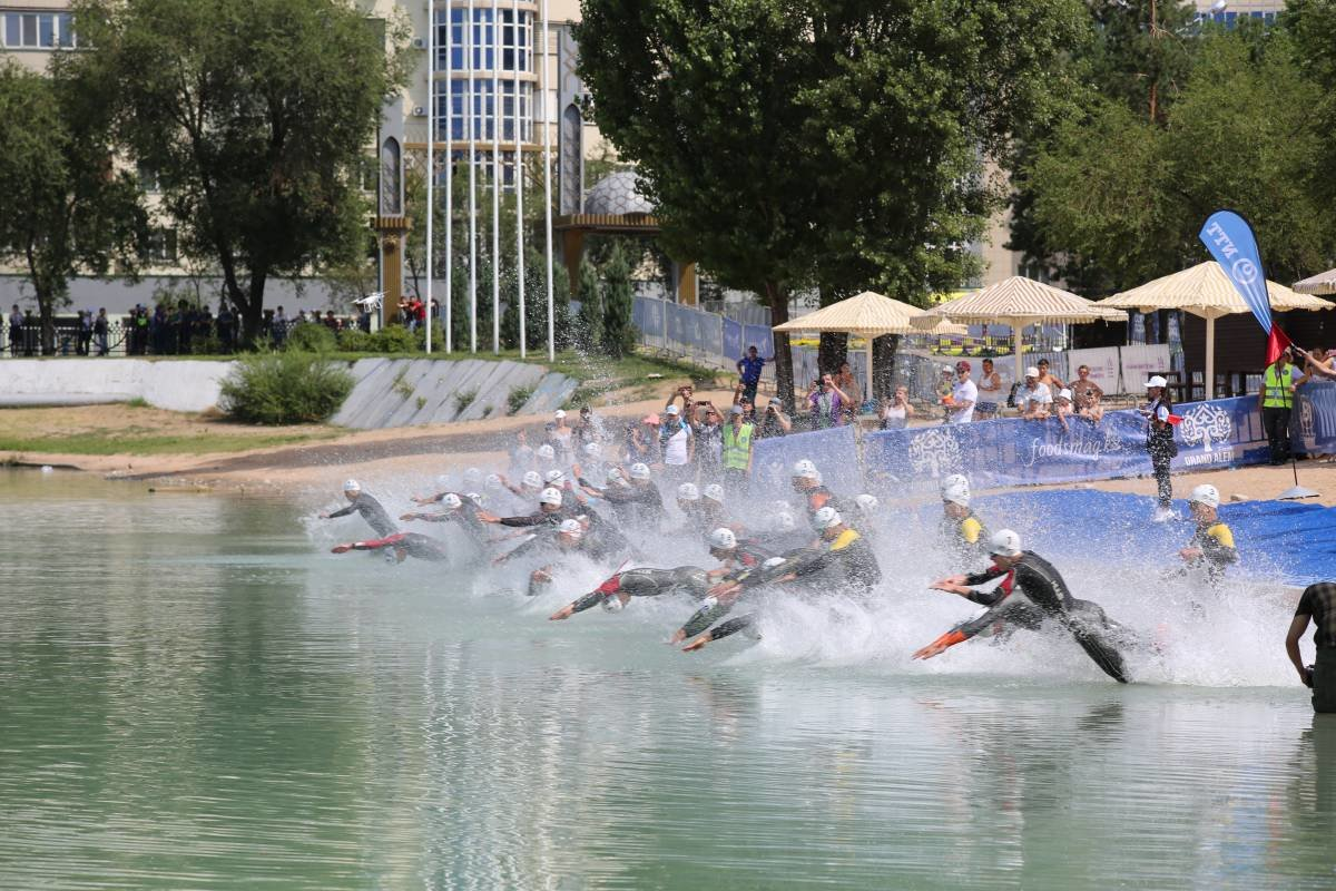 В Алматы завершился международный турнир по триатлону (ФОТО), фото-5