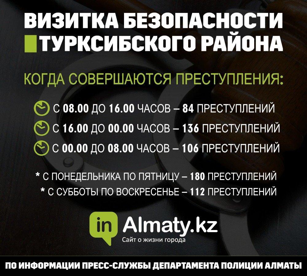 Полиция назвала криминальные места Турксибского района (инфографика), фото-2