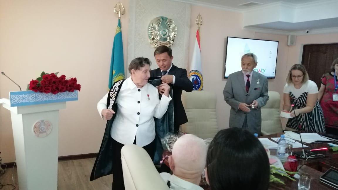 В Алматы отметили 85-летие героя труда и выдающейся женщины планеты, фото-1
