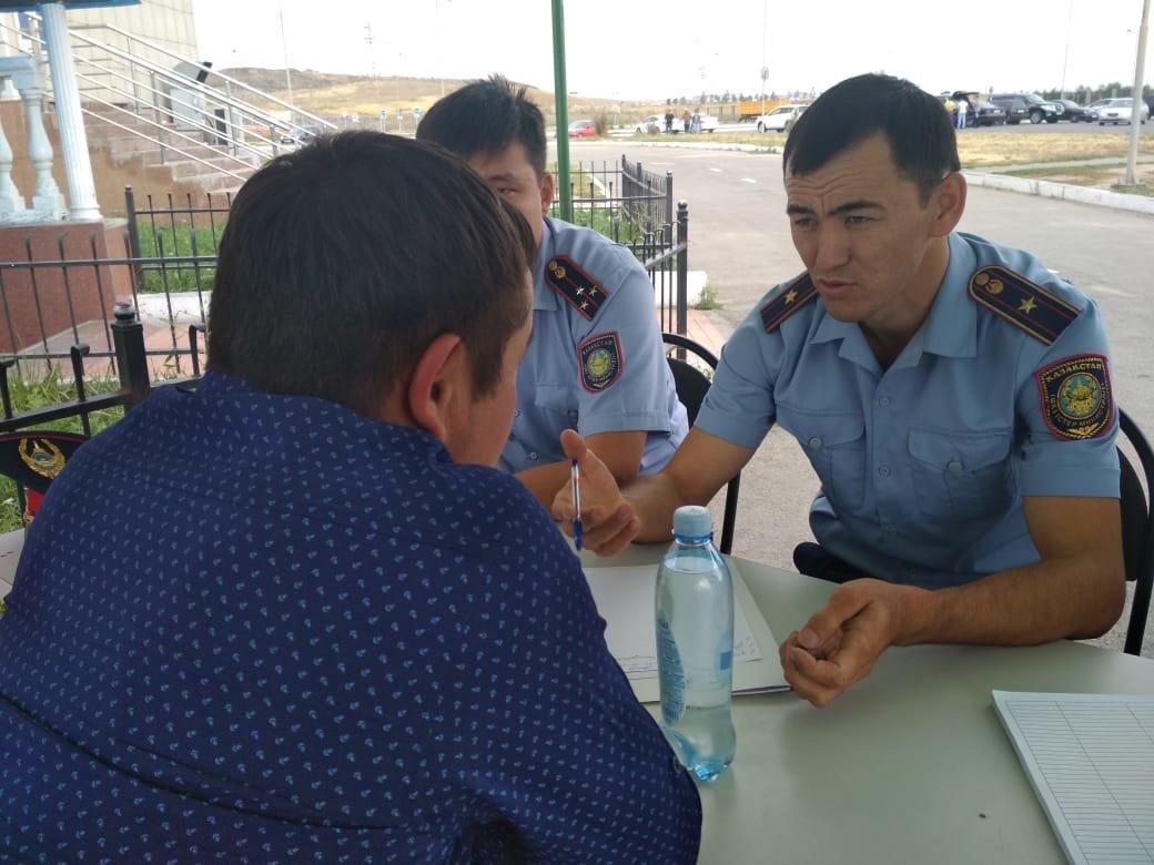 В Алматы стартовала акция «Приемная на дороге», фото-2