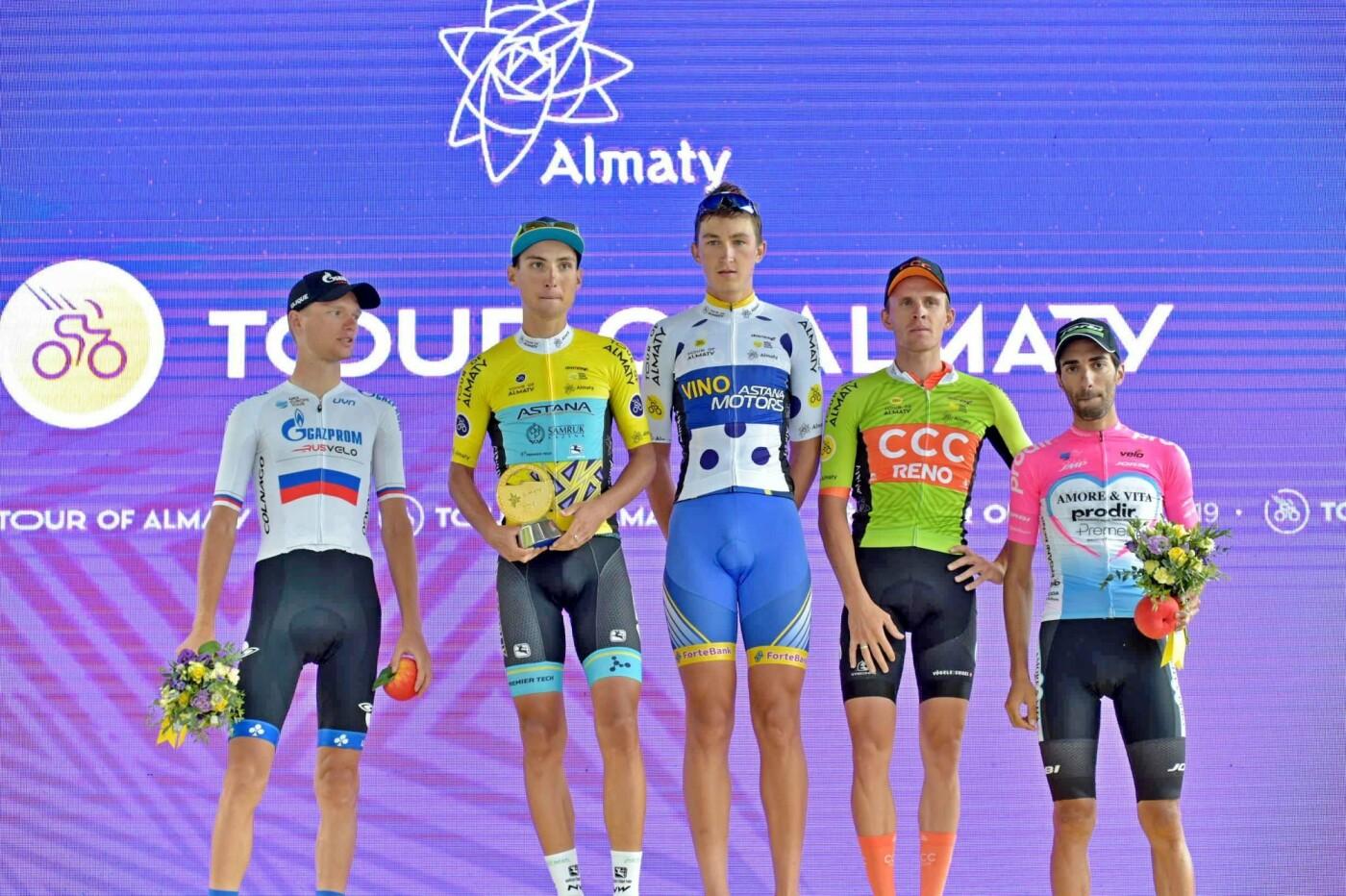Казахстанец Юрий Натаров выиграл общий зачёт Tour of Almaty , фото-2