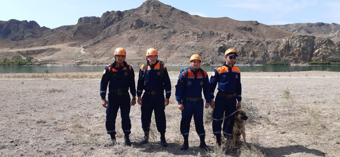 Тренировка алматинских спасателей прошла в Тамгалы-Тас (фото), фото-1