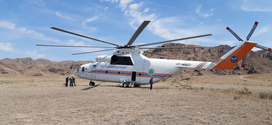 Тренировка алматинских спасателей прошла в Тамгалы-Тас (фото), фото-6