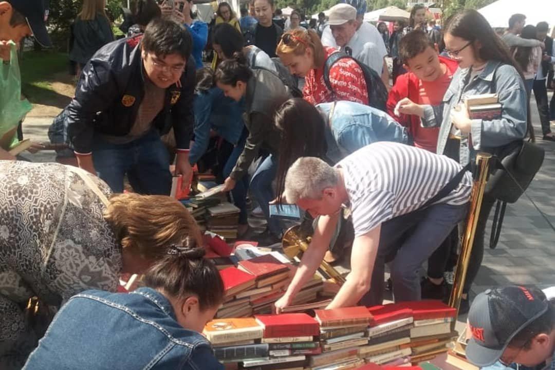 Книжный фестиваль провели в Алматы (фото), фото-7