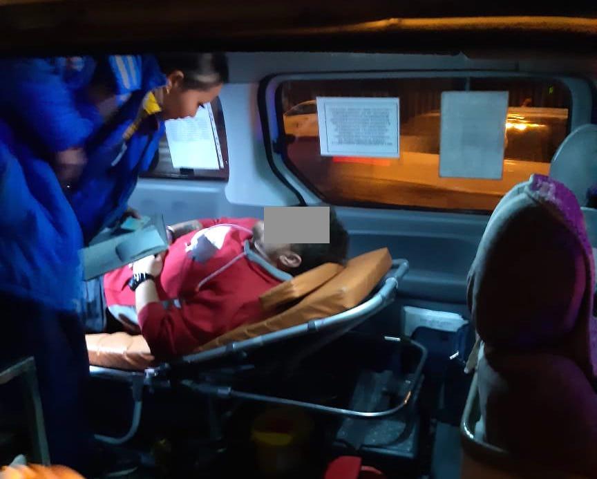 Двое парней избили мужчину и отобрали рюкзак в Алматы, фото-1