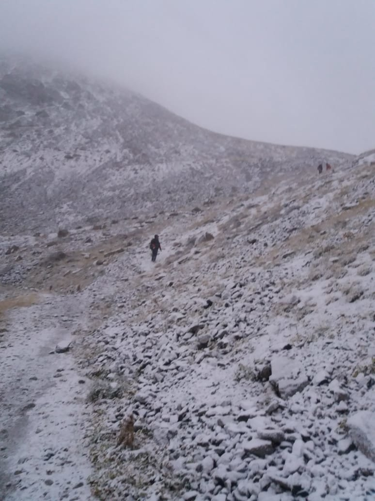 Замёрзшую семейную пару спасли в горах Алматы, фото-1