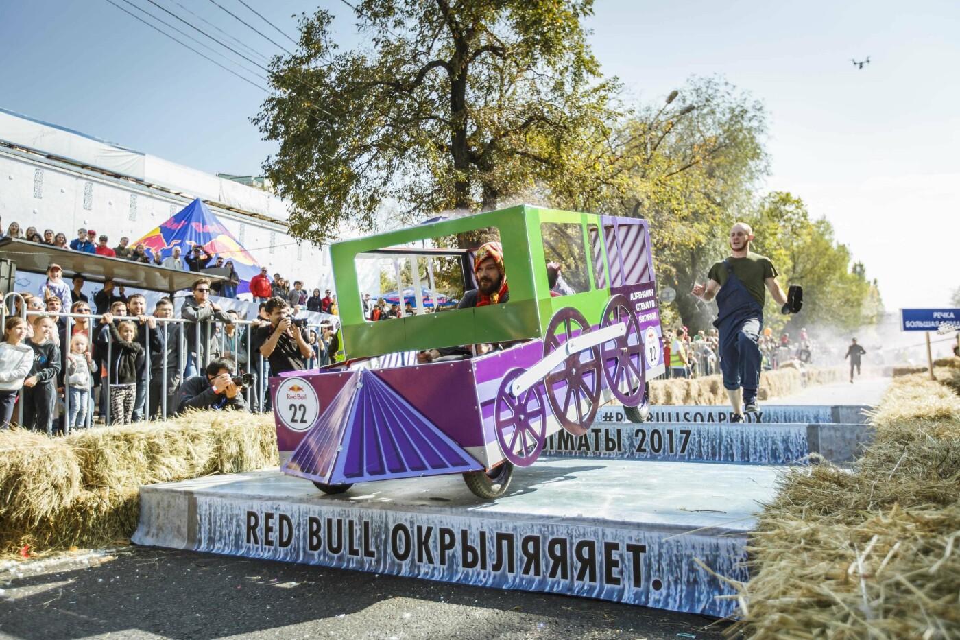 Для гонки самодельных болидов в Алматы перекроют проспект Достык, фото-1, Фото организаторов Red Bull