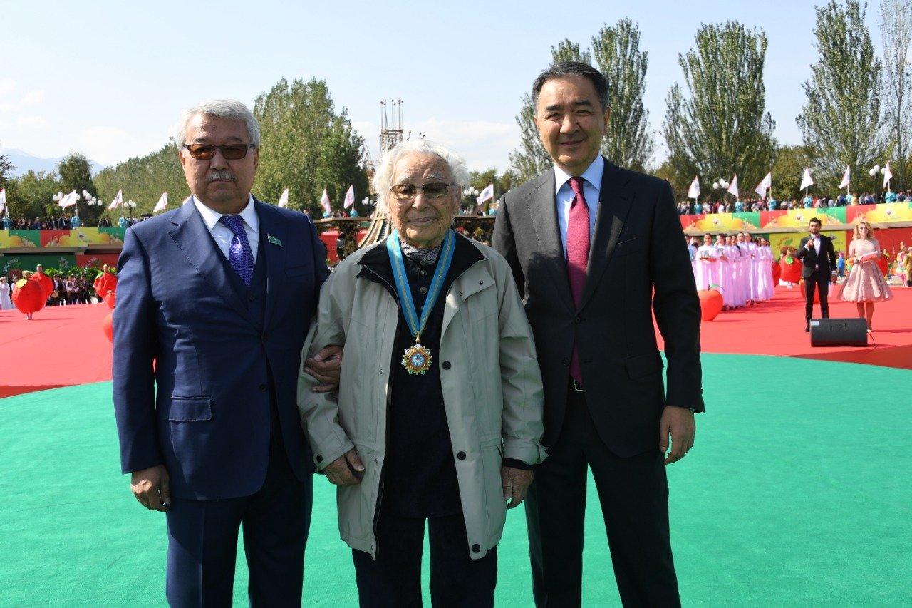 Бауыржан Байбек стал почетным жителем Алматы, фото-2, Фото пресс-соужбы акимата Алматы