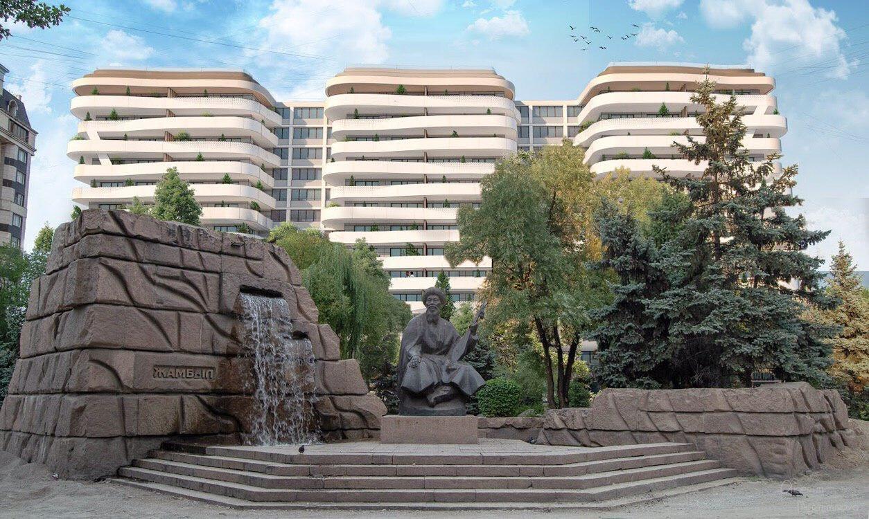 Какими могут стать «Три богатыря» в Алматы после обновления, фото-16, Эскизы  Айгерим Мертемировой