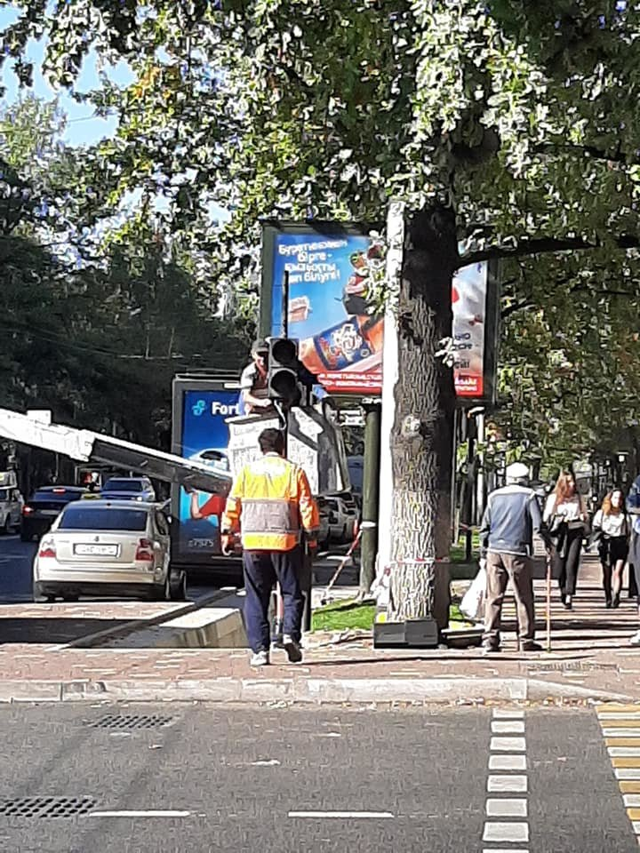 На двух центральных улицах Алматы установят новые светофоры (фото), фото-3