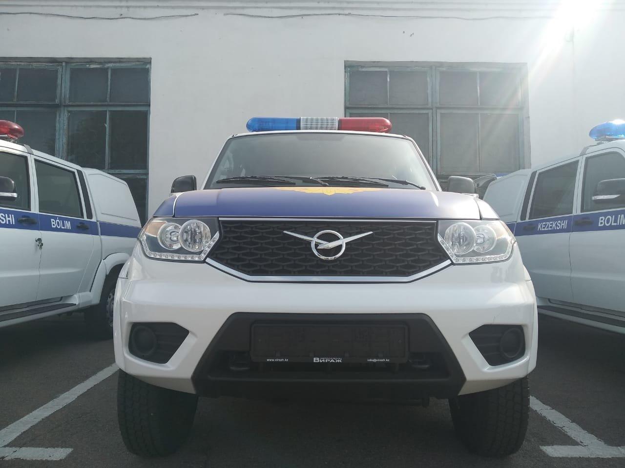 Дежурные части Алматы получили новые авто – кузов зимой отапливается, фото-6