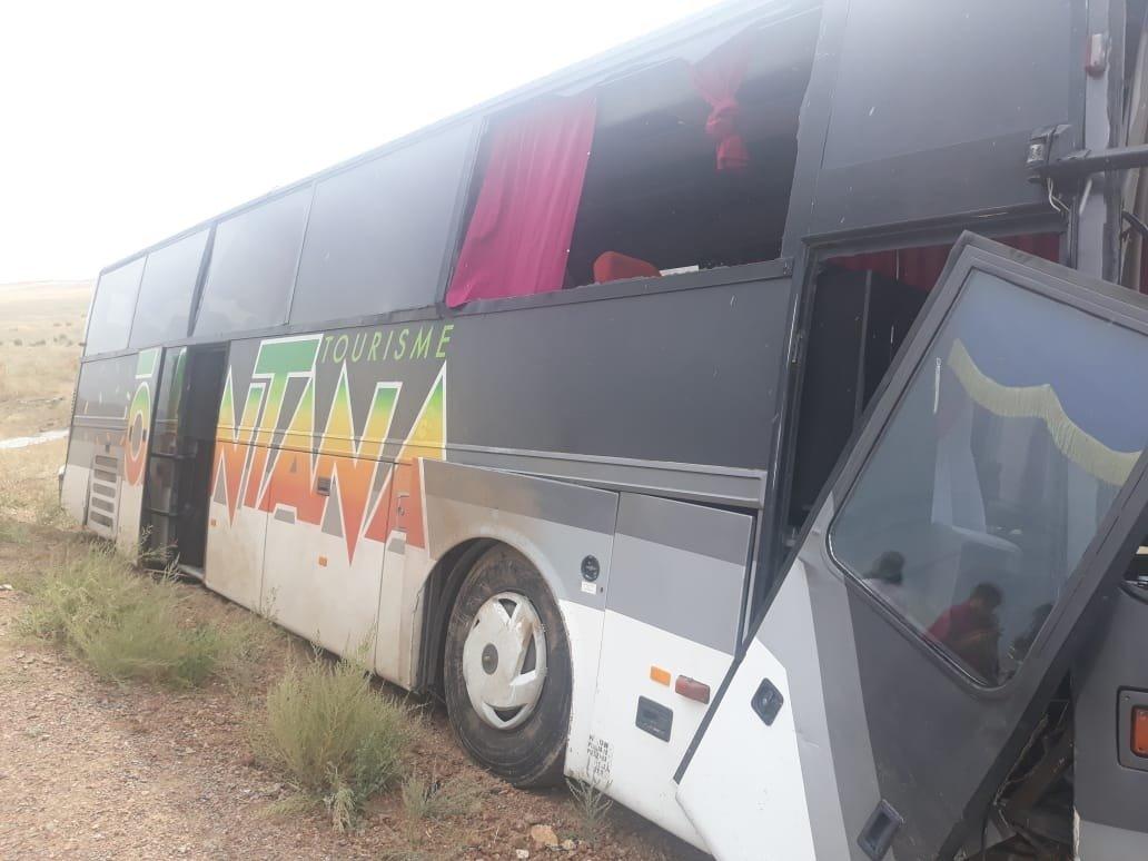 В Алматинской области попал в ДТП автобус со школьниками, фото-1