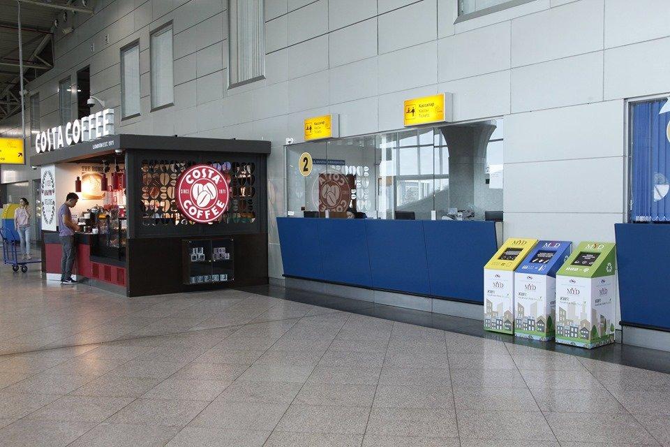 Эко-урны для раздельного сбора мусора появились в аэропорту Алматы, фото-4