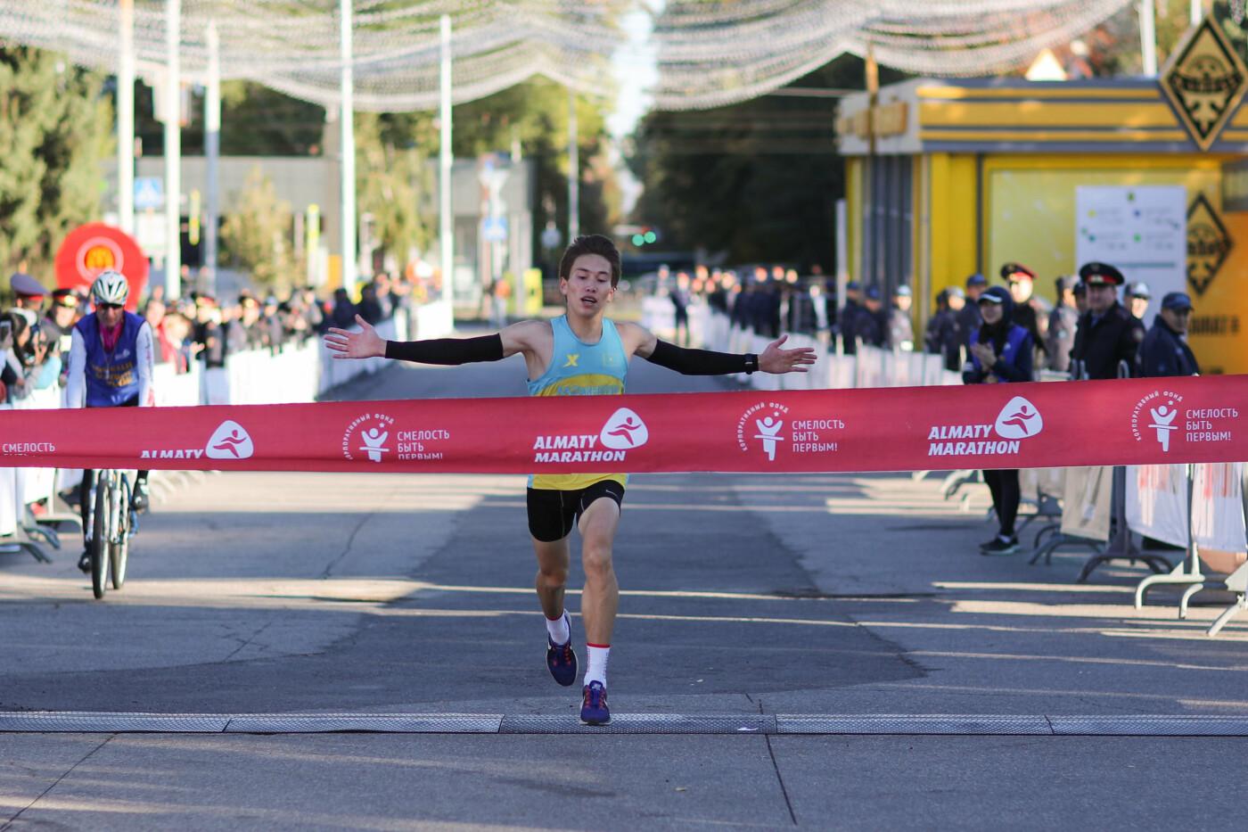 В Алматы состоялся полумарафон спортсменов-любителей (фото), фото-3
