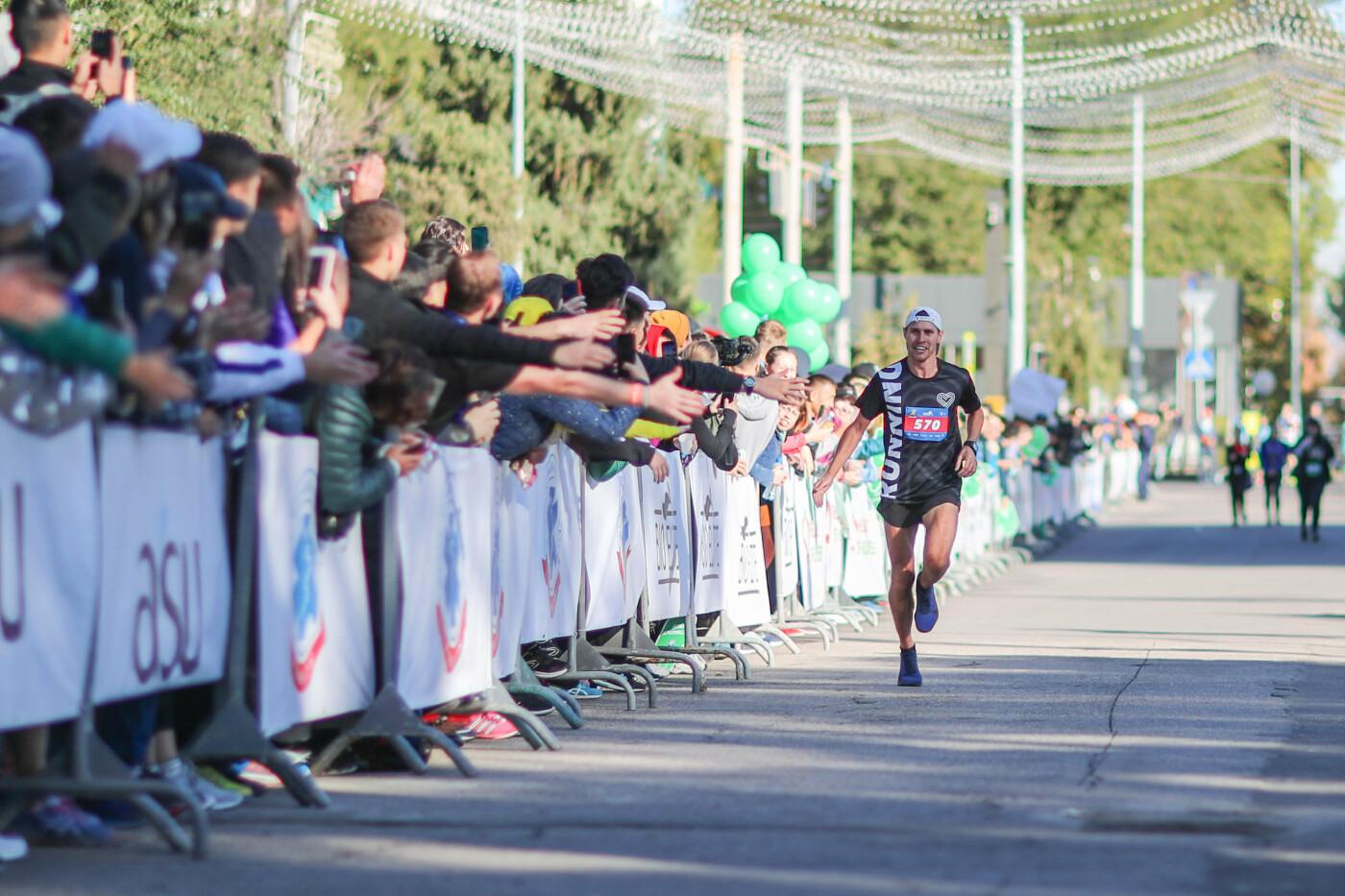 В Алматы состоялся полумарафон спортсменов-любителей (фото), фото-1