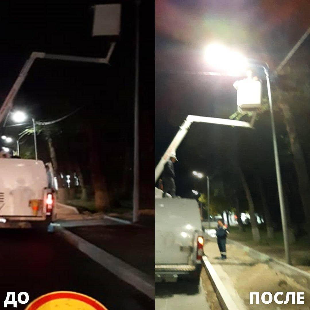 Неработающие фонари заменили в Алматы, фото-4