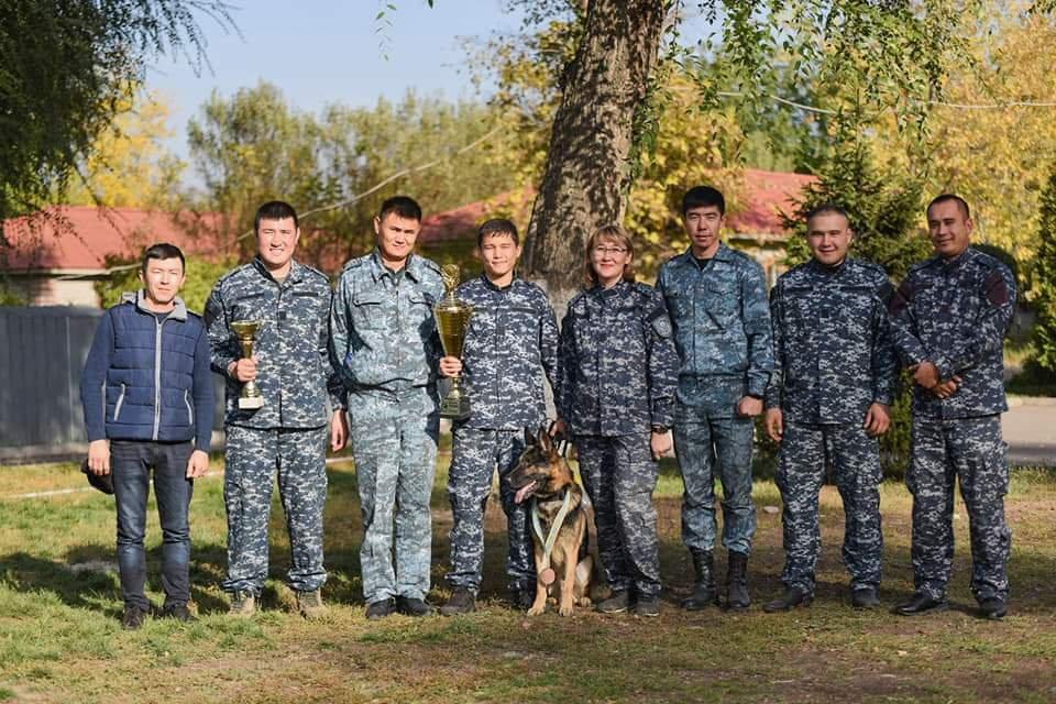 Лучших четвероногих напарников полицейских выбирали в Алматы (фото), фото-2