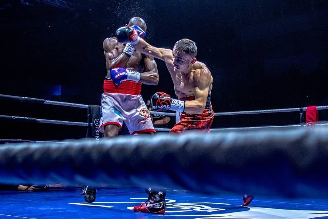 Аким Алматы поздравил Каната Ислама с победой в бою за титул чемпиона WBO, фото-1